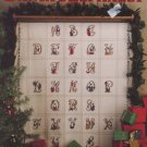 Santa Alphabet Cross Stitch Pattern Leisure Arts 887