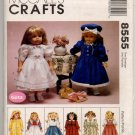 """McCall's Crafts 8885 Doll Clothes Pattern To Fit an 18"""" Doll - uncut"""
