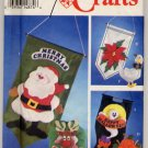 Simplicity Crafts 8771 Holiday Wall Hangings Patterns - Uncut