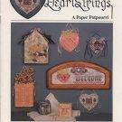 HeartStrings A Paper Potpourri Cross Stitch Pattrns AC-69