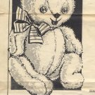 Vintage Loveable Teddy Pattern 5594-T Approx 32""