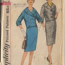 Simplicity 3826 Misses' Suit and Double Breasted Suit Sz 14 Bust 34 - uncut