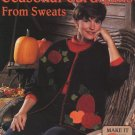 Seasonal Cardigans from Sweats  - Leisure Arts Sewing Leaflet 1569