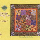 Connie's Garden Pinwheel Designed by Valori Wells Pattern Leaflet