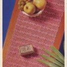 Cheval Runner - Hairpin Lace - Coats Mercer - Crochet Design Leaflet 1096