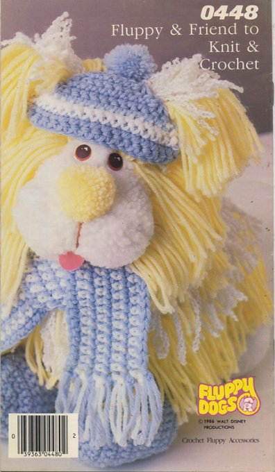 Fluppy & Friend to Knit and Crochet Patterns - Knitting & Crochet with Style from Simplicity 0448