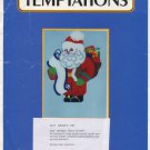 Temptations Plastic Canvas Santa's List Pattern Only From Kit 5224