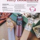 Plastic Canvas Kitty Bookmarks - Annie's Attic 885008