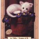 Annie's Attic Crochet Kountry Kittens Kitty Bouquet Pattern 2764