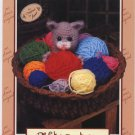 Annie's Attic Crochet Kountry Kittens Peek-a-boo Pattern 2766
