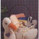 Annie's Attic Goose Basket Crochet Pattern 8B007
