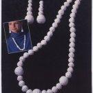 Annie's Attic Irish Crochet Jewelry Irish Pearls Pattern 7305