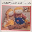 Country Dolls and Friends Butterick Pattern 4948 - Uncut