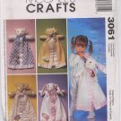 McCall's Crafts 3061 Blanket Buddies - Uncut
