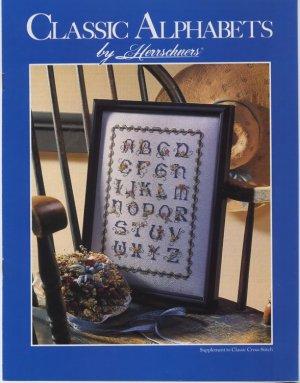 Classic Alphabets by Herrschners - Cross Stitch Patterns