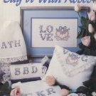 Say It With Roses Cross Stitch Leaflet 2110 Leisure Arts
