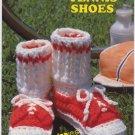 Annie's Attic Big Foot Boutique Tennis Shoes Crochet Pattern 431