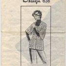 Design 638 Crocheted Jacket Pattern