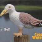 Annie's Attic Crochet Waterfowl Sea Gull Pattern 87W13