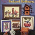 Backyard Birdhouses Cross Stitch Patterns - Cross My Heart CSB-123