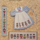 The Wee Folk Counted Cross Stitch Patterns - Judith Bonnot