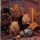Just Kitten Around from Teresa Flatness - Paper-Mache, Tole Painting Book