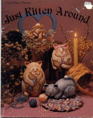 Just Kitten Around from Teresa Flatness - Paper-Mache, Tole Painting Book
