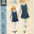 McCall's 8391 Girls' Jumper and Blouse Pattern Size 10 - Uncut