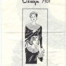 Design 7101 Crocheted Collars and Matching Cuffs Pattern