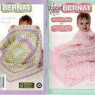 Bonus Book Baby Coordinates & Baby Coordinates Sweet Stripes - Crochet & Knit Book - Bernat 542043
