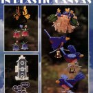 Wind Chimes in Plastic Canvas Leisure Arts Leaflet 1557