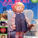 Soft Dolls & Animals! May 2003 cloth doll & animal patterns, techniques, how-to magazine