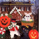 Year Round Yard Ornaments Pattern Book by Max Terry Plaid #8712