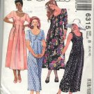 Easy McCall's 6315 Misses' Jumpsuit and Dress Pattern Size B (8, 10, 12) - Uncut
