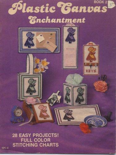 Plastic Canvas Enchantment Book 2 - 28 Projects - Sandy Crafts SPC-2