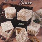Plastic Canvas Ribbon & Pearls Boxes Patterns - Annie's Attic 871432