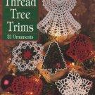 Thread Tree Trims to Crochet Leisure Arts Leaflet 2836