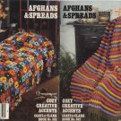 Afghans & Spreads Cozy Creative Accents - Coats & Clark Book No 303