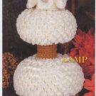 Annie's Attic Milk Glass Crochet Lamp Crochet Pattern 87Q01