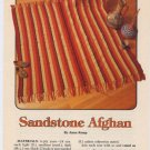 Annie's Attic Sandstone Afghan Crochet Pattern 87A67