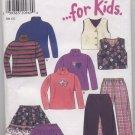 New Look ... for Kids Pattern 6711 Size 3 - 8 Uncut