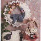 Annie's Attic Lamb, Bunny & Kitty Crochet Pattern 8B043