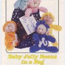 Annie's Attic Baby Jelly Beans in a Bag Crochet Pattern 87B68