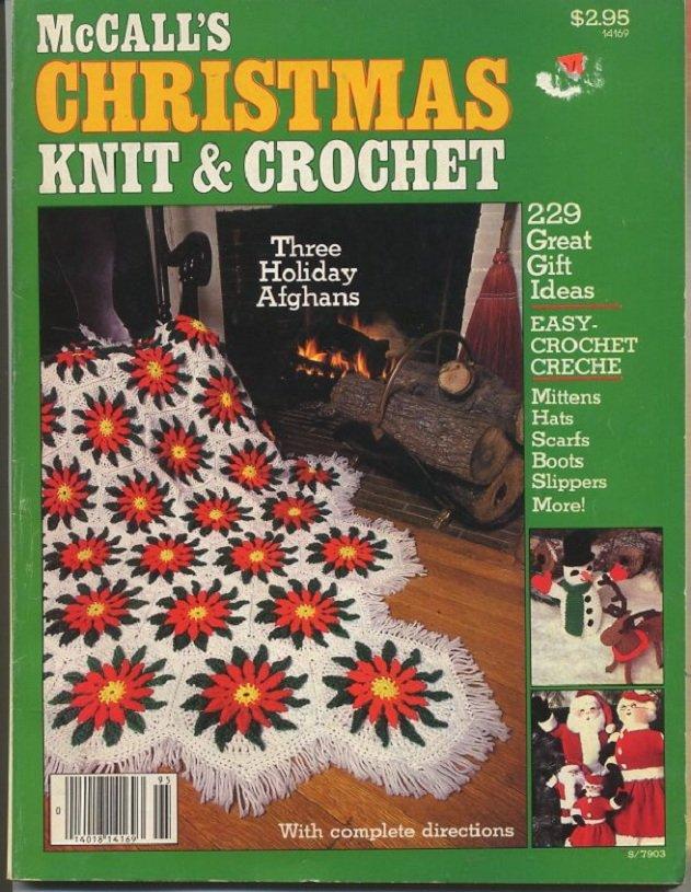 Mccall S Christmas Knit Amp Crochet Magazine 1979