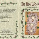 In the Woods Vintage Candle Mat Pattern - Barri Sue Gaudet - Uncut