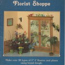 Meyer's Florist Shoppe - Book Craft Mini 1:12 scale flowers, plants, FIMO Clay