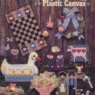 Country Plastic Canvas - American School of Needlecraft 3047