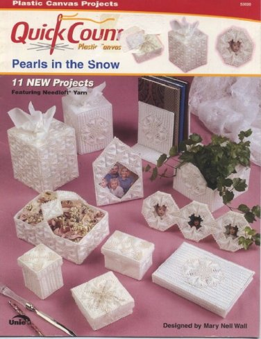Plastic Canvas Pearls in the Snow Quick Count 53020