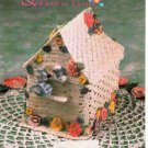 Annie's Attic Musical Birdhouse & Flower Doily Crochet Pattern 8B052