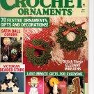 Christmas Crochet Ornaments Magazine 1987 - 70 ornaments